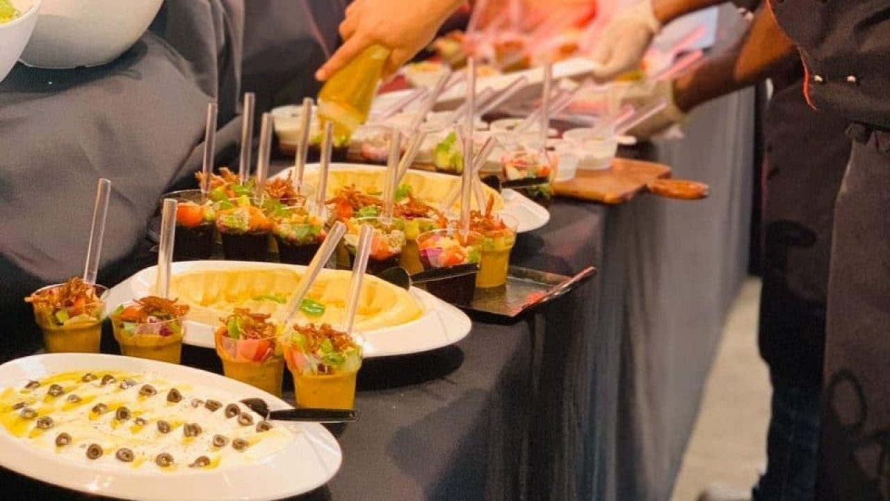 Catering scroll 12